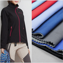 waterproof breathable tpu/tpe laminated bonded fleece softshell polyester fabric