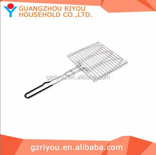 Roast Fish BBQ Grid Mesh & Grill Net Basket For Family Activity