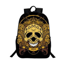 2017 New Personalized Skull Backpack School Bags for Teens