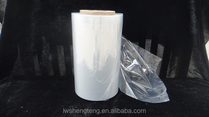 14mic 15mic 16mic clear corner folded pof heat shrink film