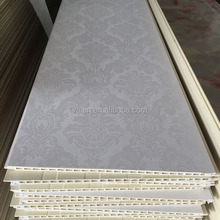 30CM Cheap price waterproof interior exterior designs wall pvc panels
