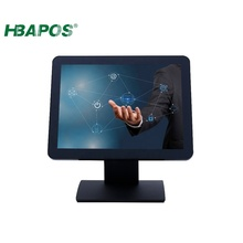 15'' Cheap Capacitive Touch Screen <strong>Monitor</strong> with WIFI for Restaurant E-Menu