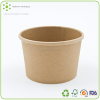 2016 Wheat straw fiber based disposable instant noodles kraft paper bowl