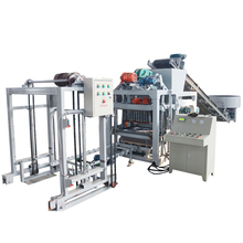 directly factory price Baking free automatic machine to make block cement QTJ4-25 D