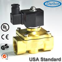 Diaphragm type direct acting 1 inch water solenoid valve