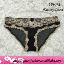 The new sttyle oem underwear tear away panties new lace and cotton female underwears