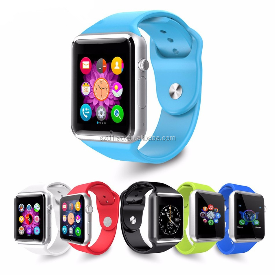 DIHAO bluetooth watch a1 smartwatch,mtk 6260 gsm wrist smart watch phone with ce fcc rohs,price of smart watch phone