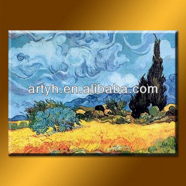 Hot abstract scenery painting by Van Gogh