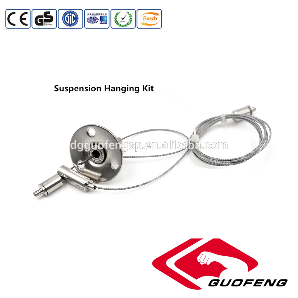 New products stainless steel suapension hanging kit for lighting