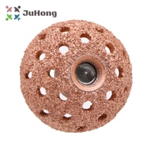 Small Buffing Wheel Tungsten Carbide Rasp / Contour Cup w/ Arbor Adaptor Tire Inner Liner Tube Buffing Tire Repair Abrasive Tool