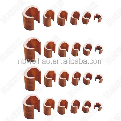 arthing Conductor Connection Electric Copper C Clamp
