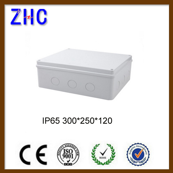 300*250*120 waterproof standard junction box sizes enclosure box