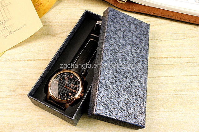 Custom Made Fashion cardboard customize printing high quality packaging paper watch box