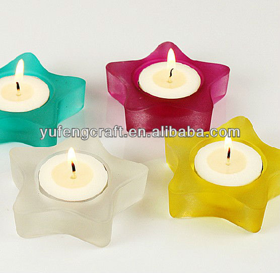 votive tealight candle holder,candel holder,hand made glass oil lamp