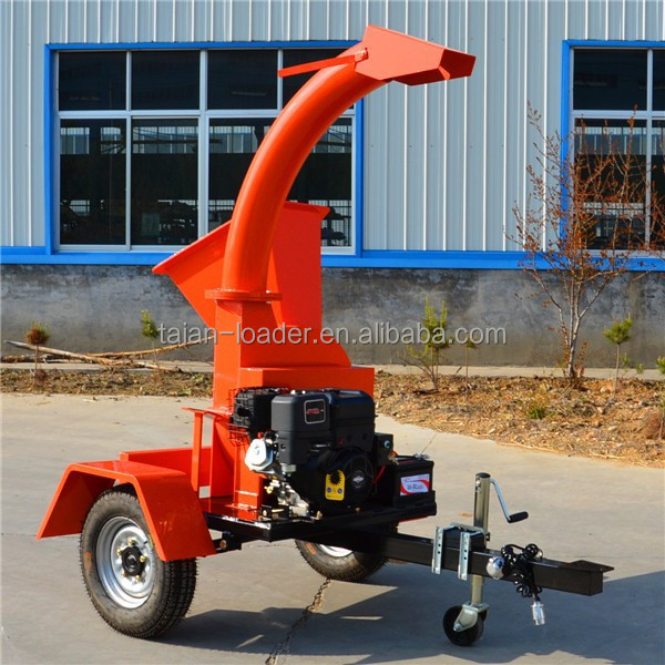 hot selling 13HP gasoline wood chipper shredder/wood chipping machine