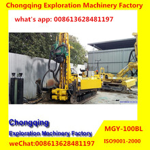2017 New Arrival Hot MGY-100BL Hydraulic Jet-grouting Drilling Rig with Crawler Mounted
