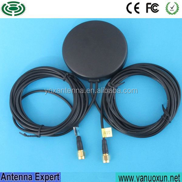 Yetnorson Manufactory Quad Band GPS/GSM Combination Antenna with RF cable