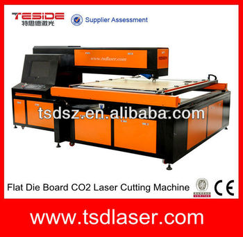 iran die board laser cutting machine with CE certificate