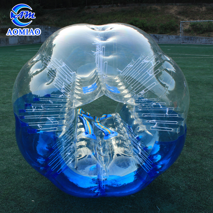 Newly cheap tpu human bubble soccer inflatable belly bumper ball for adult