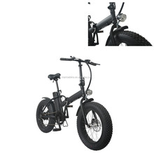 Cheap Electric Bike, 20inch Fat Tire Cool Motorbike, Electric Bicycle With Pedal Assist
