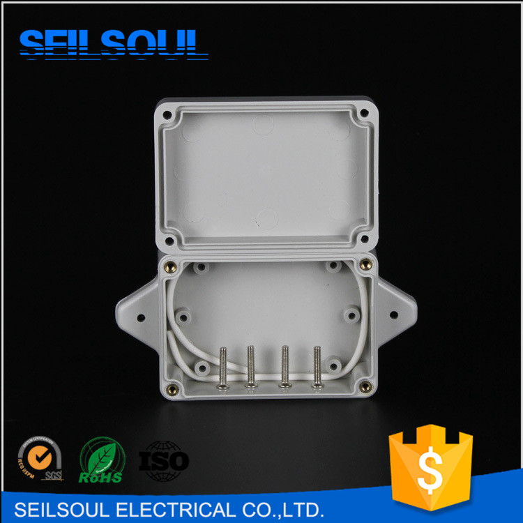 Low Price 83x58x33 Fixed Ear Type IP65 Plastic Waterproof Small Electrical Junction Box