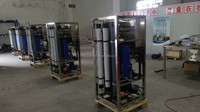 marine boat sea water desalination ro machine with 3tpd