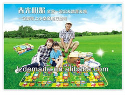 Outdoor folding Baby Play rubber mat