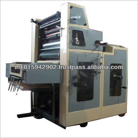 Poly bag Single color offset machine Manufacturers in India