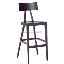 Eastern Style Hot Sale Simple Cheap Design Wood Bar Stool