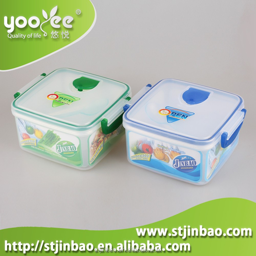 Eco Friendly Microwaveable Plastic Lunch Ideas for Kids With Lid Wholesale