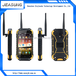dual camera flash cell phone android dual sim waterproof smart phone with walkie talkie