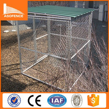 Heavy duty galvanized dog kennel / cheap chain link dog kennel panels
