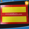 Rear Bumper Truck Self Adhesive Reflector For Warning Reflective Material Sign