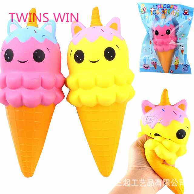 Afghanistan Best gift Promotional cartoon colorful pu toy cute fancy mini ice cream shaped toys for kids 2018 <strong>101</strong>