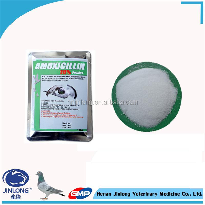 Pigeon Ppower Medicine Amoxicillin Soluble Powder Finished Pharmaceutical Product