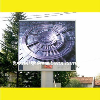 ASRAM High resolution 10000 dots/sqm full color RGB LED high definition outdoor P10 shenzhen led sign with good quality
