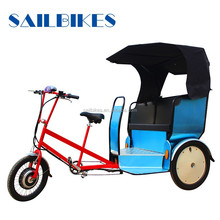 new arrival three wheel bicycle taxi for 2-3 passengers