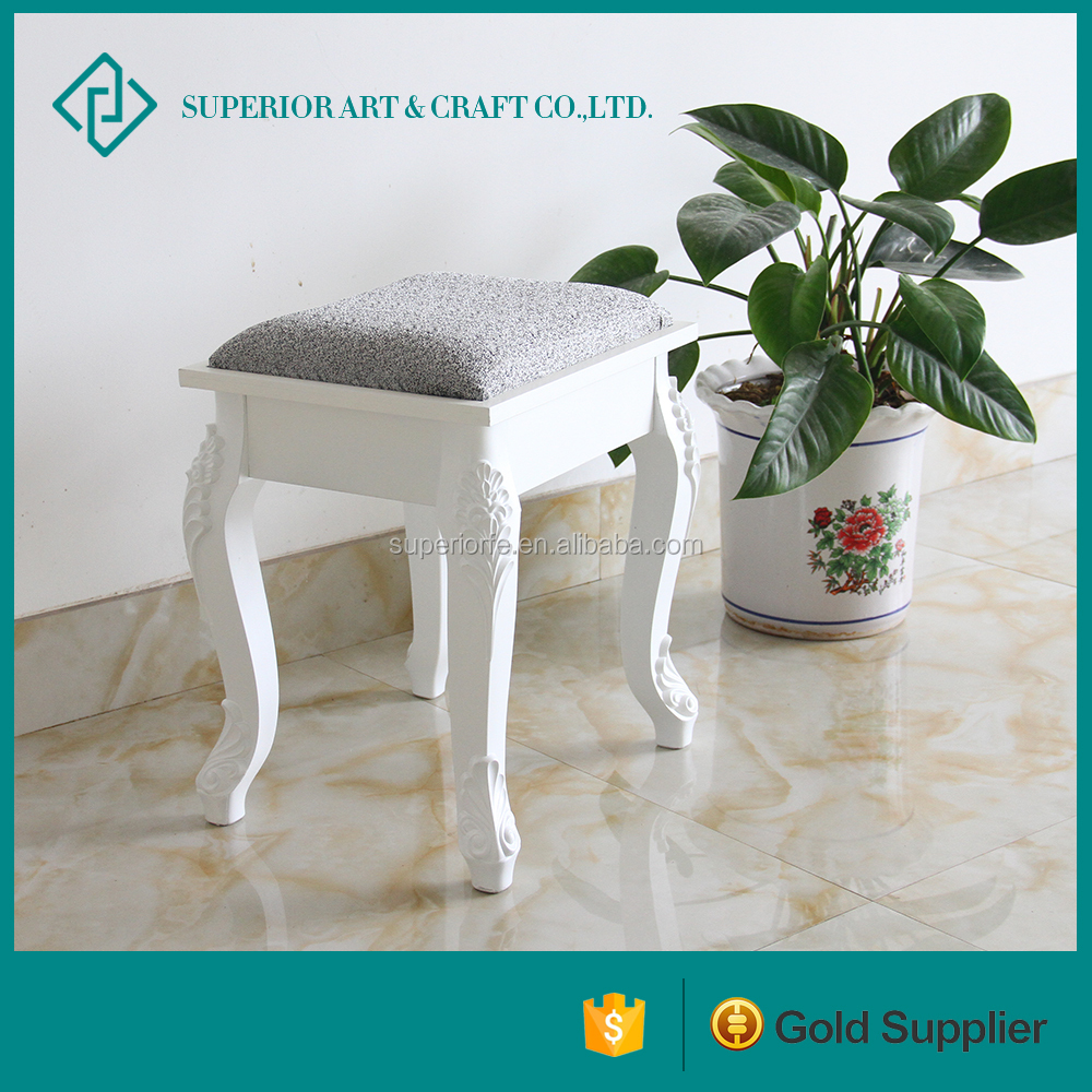 home decor make up chair wooden for bedroom