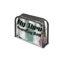 Transparent Clear Vinyl Wash Beauty Cosmetic Travel Toiletry Bag
