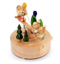 hot sale wood craft elegant wooden music box for gift