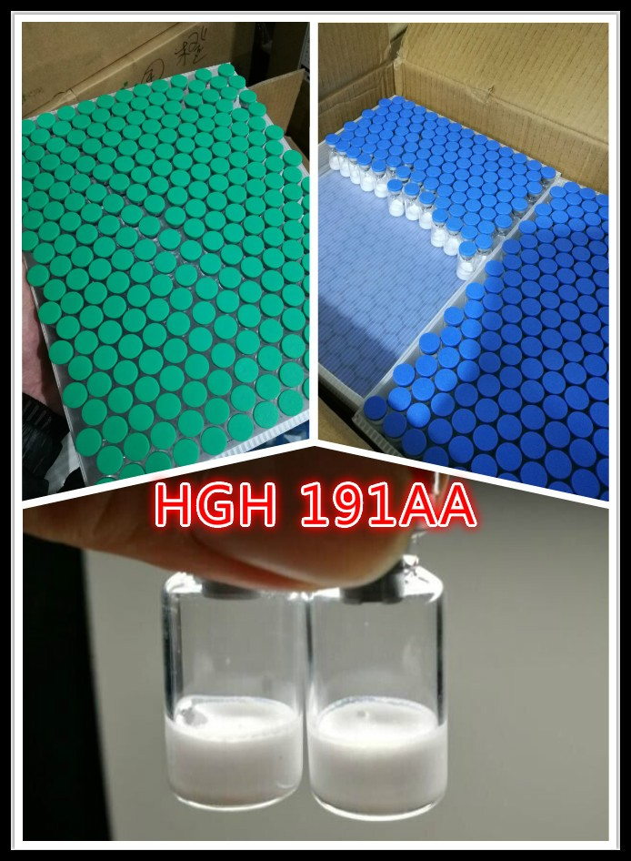 hgh 191aa human growth horm with green caps for USA,Russia,UK and Europ market with safe delivery