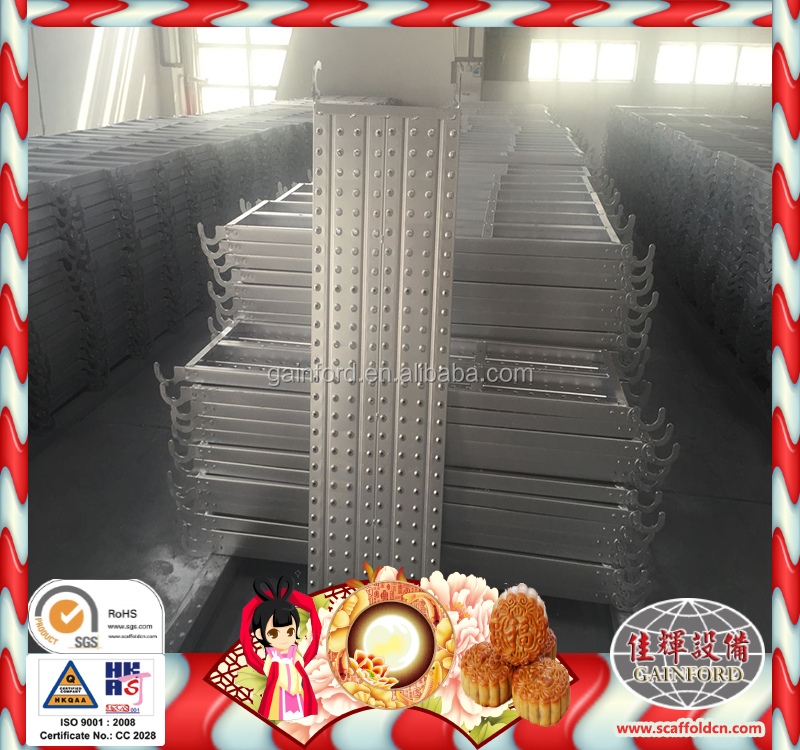 best price scaffold board bands / 38mmx225mmx3m/4m/5m/6m/8m scaffolding board/ composite platform decking