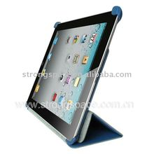 Book stand leather case for ipad 2