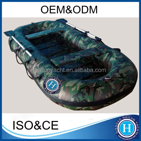 Fishing boat 4 persons inflatable small boat for sale HLD280