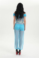 NEW carnival festival princess jasmine costume
