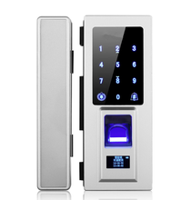 RFID Card Reader and Remote Control Glass Door Fingerprint Lock(HF-GL803)