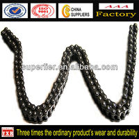 Super Quality Chain 415H Parts For Motorcycles, 415 roller chain for hot sale, Chinese motorcycle transmission chain kit