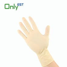 CE/FDA approved disposable Blue Color medical nitrile exam gloves powder free
