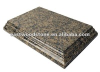 Tropical brown granite countertops