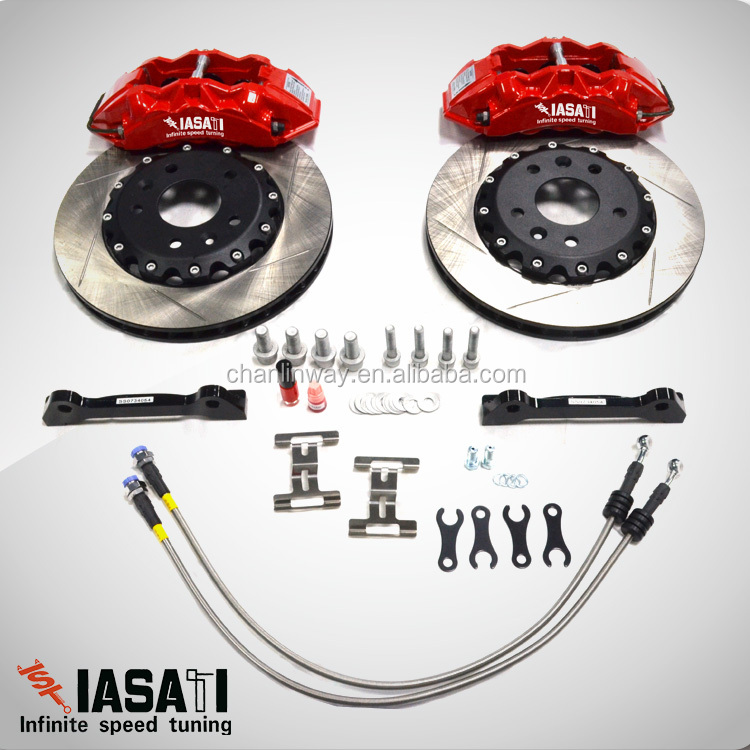 IASATI Brake disc Caliper Set for SAAB 9000